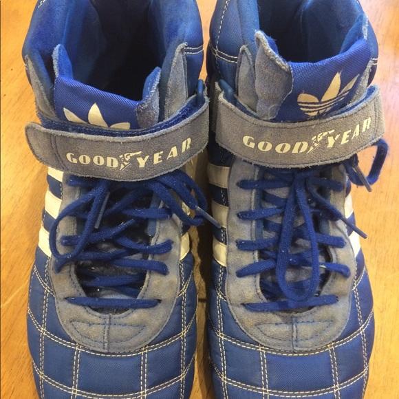 Adidas Goodyear racing driving shoes